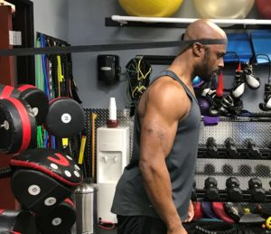 banded anterior neck exercise